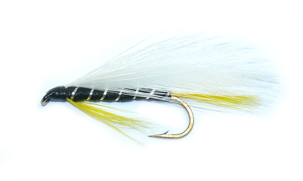 Mouche streamer Black Ghost taille 8