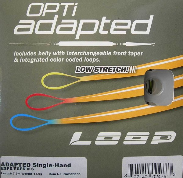 Loop OPTI Adapted Shooting head Single hand Intermédiaire pour soie #6